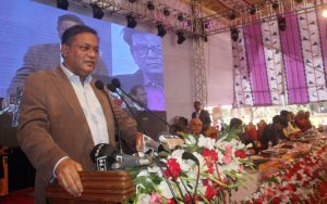 Information Minister Dr Hasan Mahmud